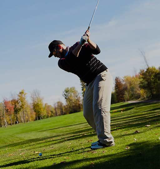 Golfing in Rising Sun
